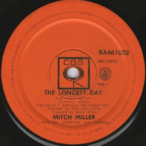 Mitch Miller The Longest Day